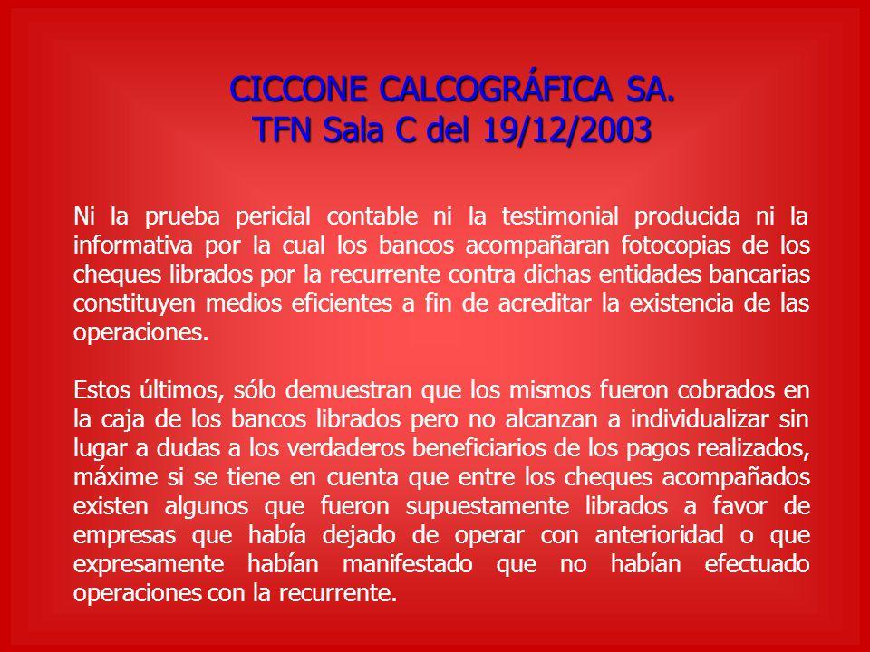 CICCONE CALCOGRÁFICA SA.