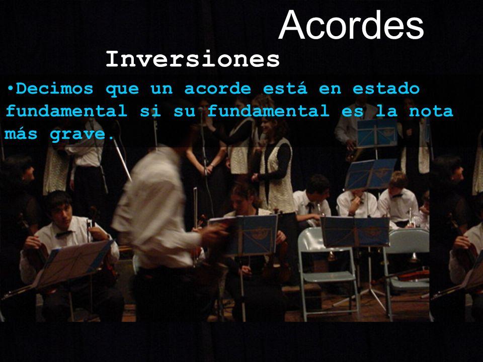 Acordes Inversiones.