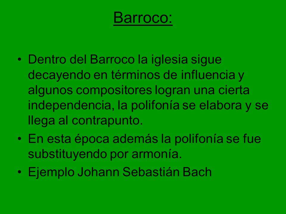 Barroco:
