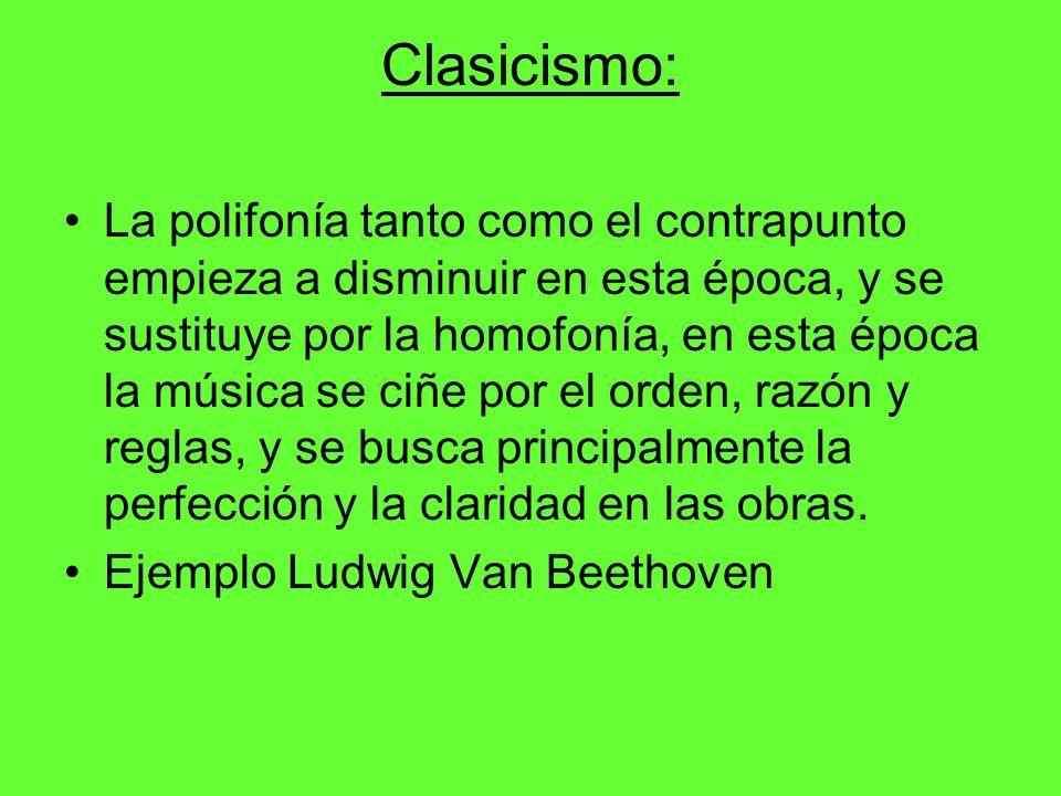 Clasicismo: