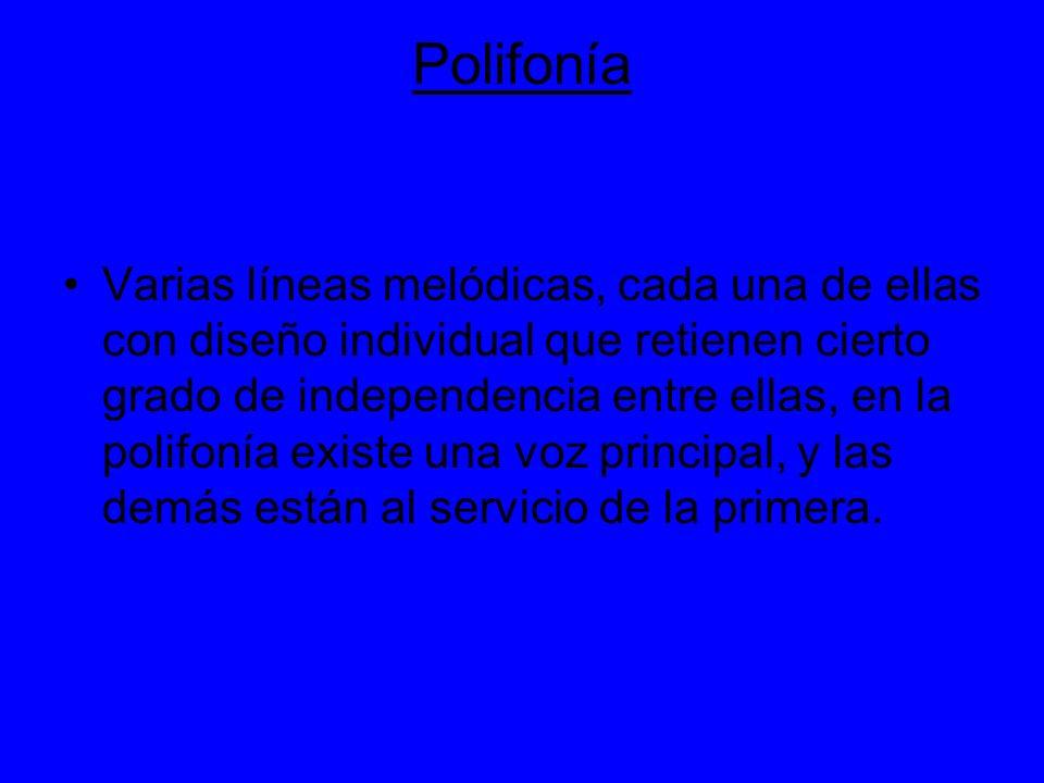 Polifonía