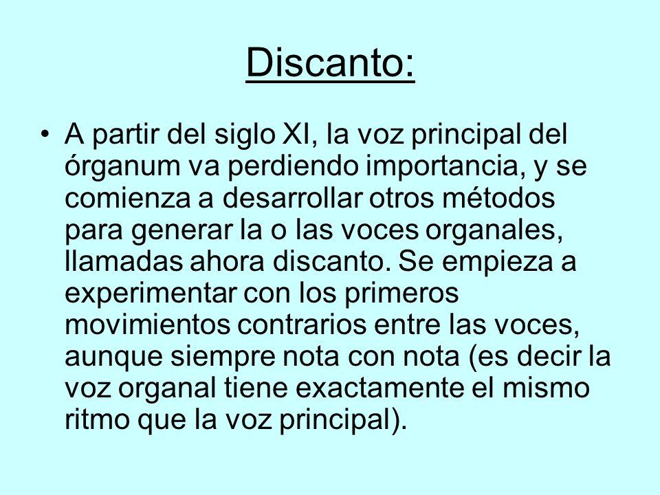 Discanto: