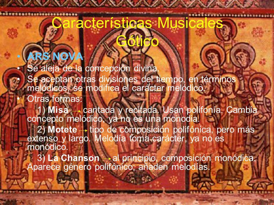 Características Musicales Gótico