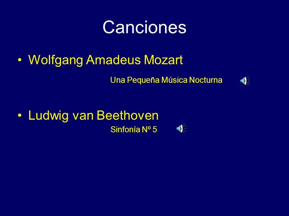 Canciones Wolfgang Amadeus Mozart Una Pequeña Música Nocturna