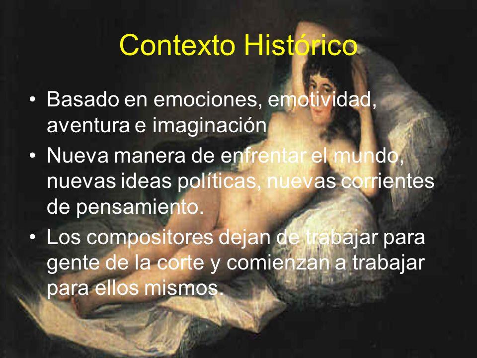 Contexto HistóricoBasado en emociones, emotividad, aventura e imaginación.
