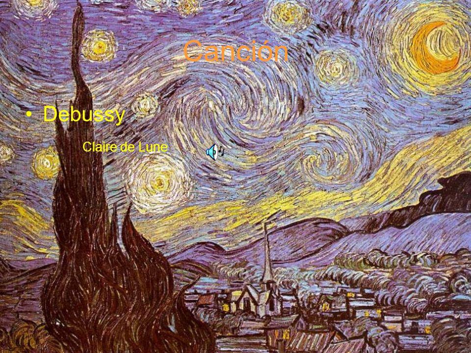 Canción Debussy Claire de Lune