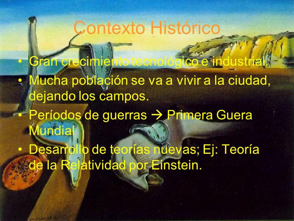 Contexto Histórico Gran crecimiento tecnológico e industrial.