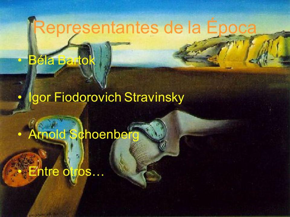 Representantes de la Época