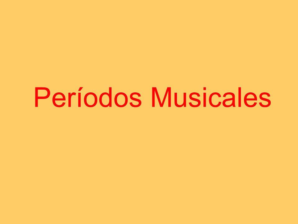 Períodos Musicales