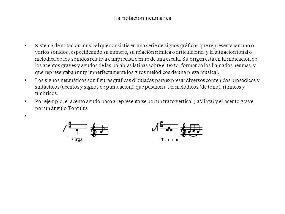 La notación neumática