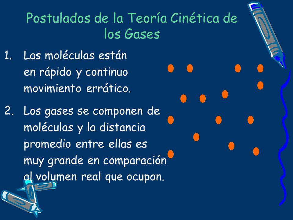 Postulados de la Teoría Cinética de los Gases