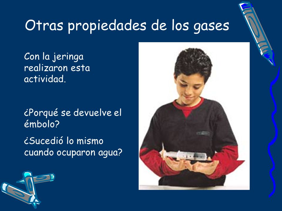 Otras propiedades de los gases