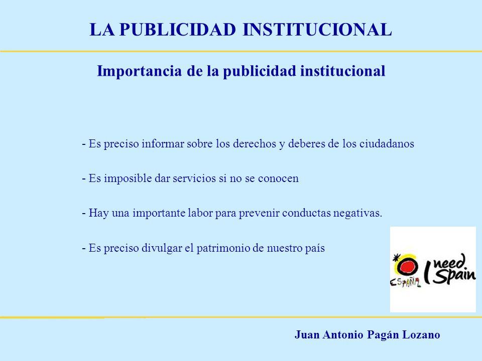Importancia de la publicidad institucional