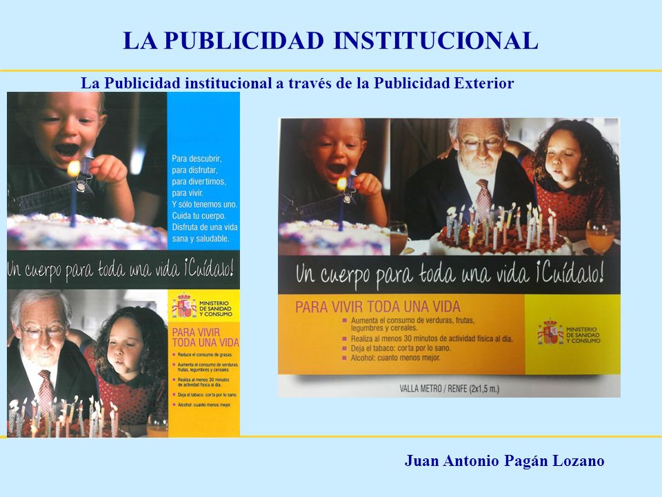 La Publicidad institucional a través de la Publicidad Exterior