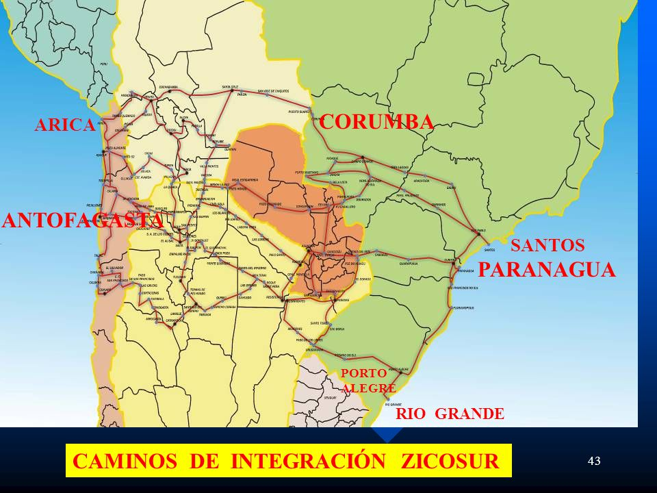 CAMINOS DE INTEGRACIÓN ZICOSUR