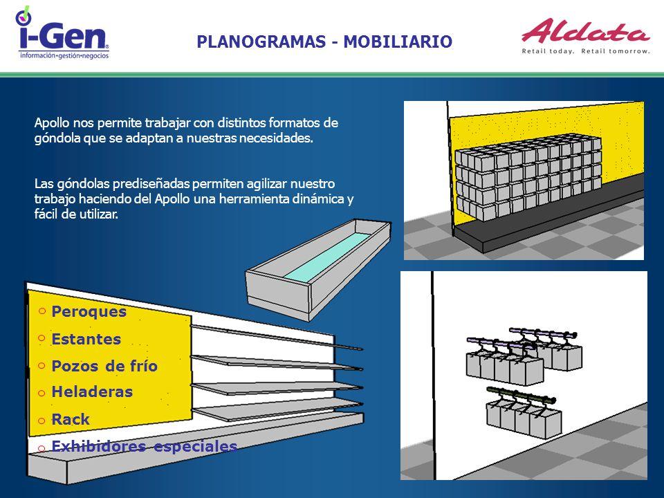PLANOGRAMAS - MOBILIARIO