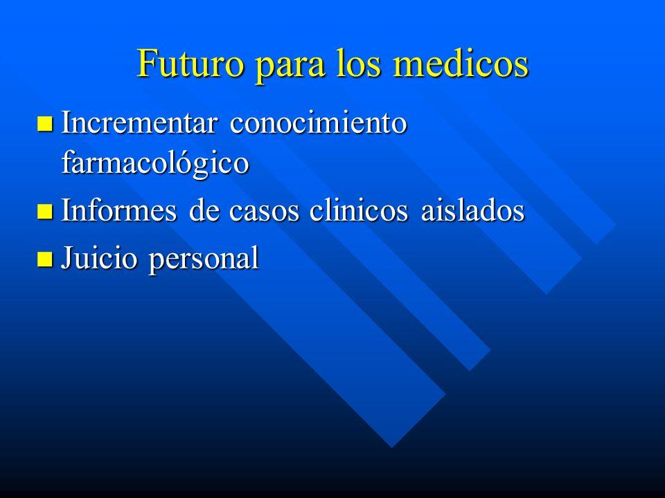 Futuro para los medicos