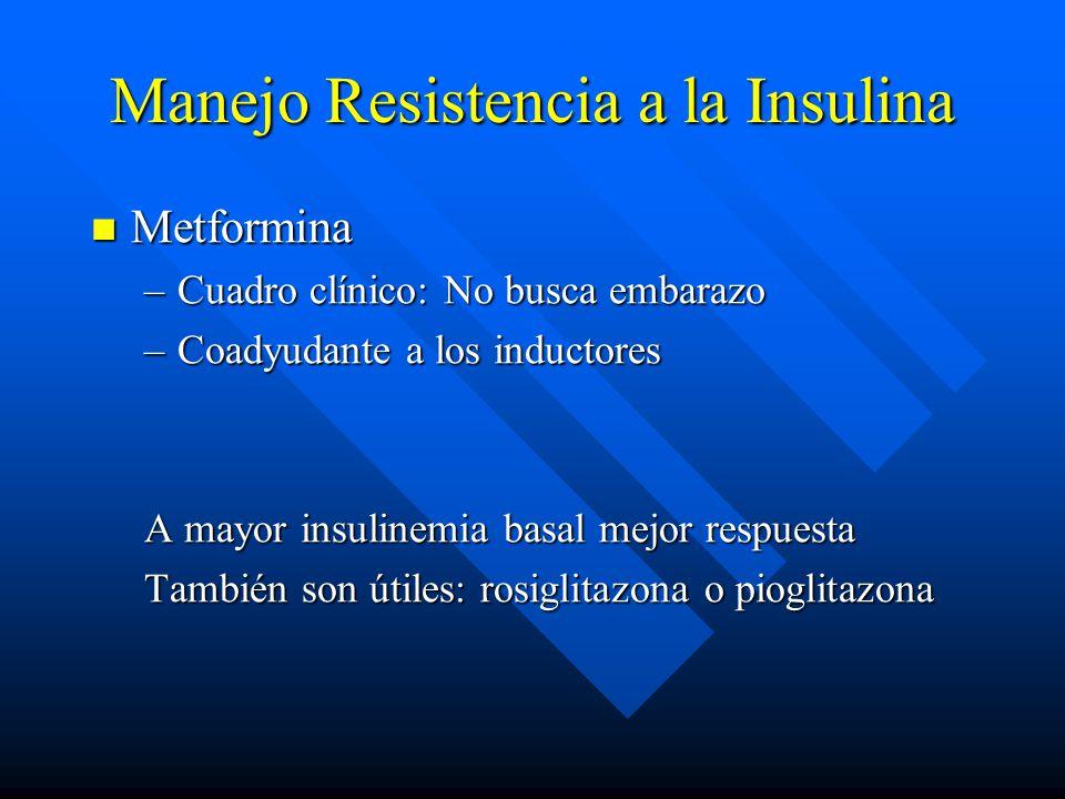 Manejo Resistencia a la Insulina
