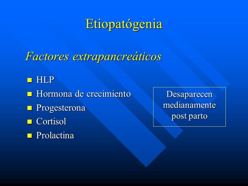 Factores extrapancreáticos