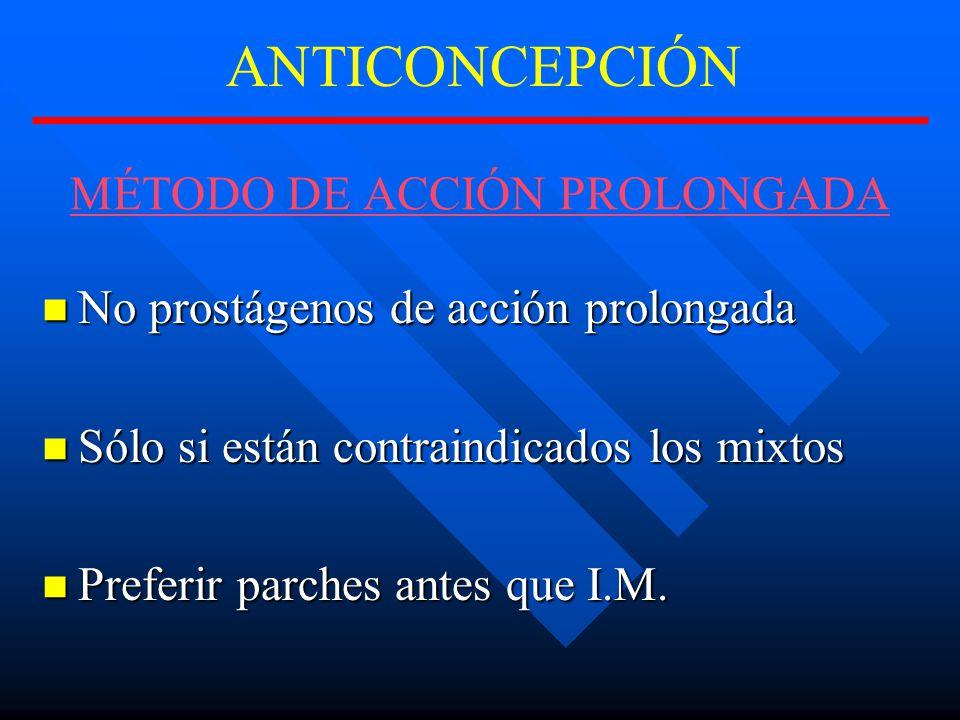 MÉTODO DE ACCIÓN PROLONGADA