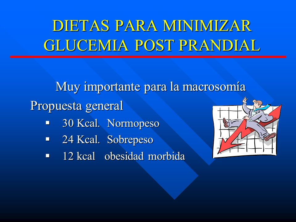 DIETAS PARA MINIMIZAR GLUCEMIA POST PRANDIAL