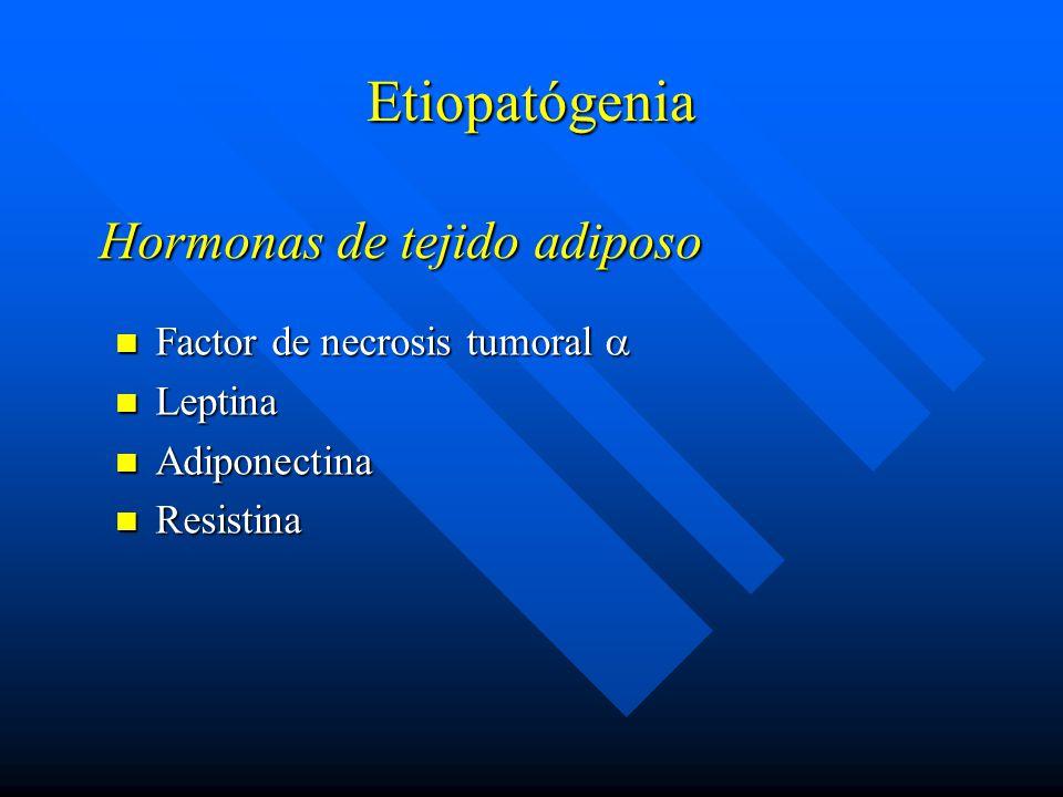 Hormonas de tejido adiposo