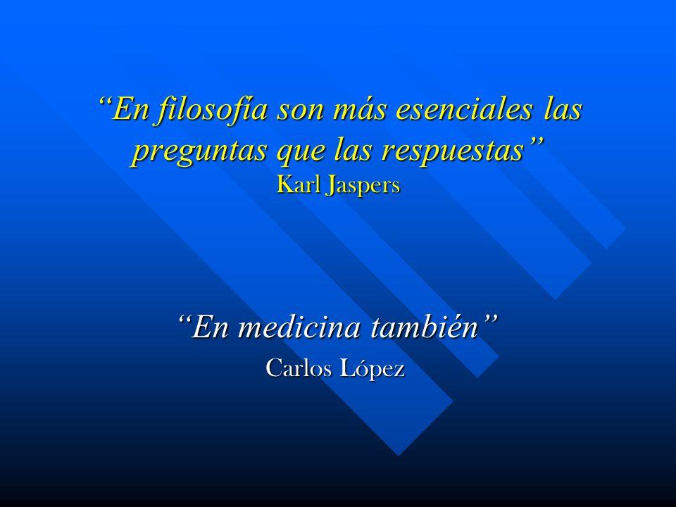 En medicina también Carlos López