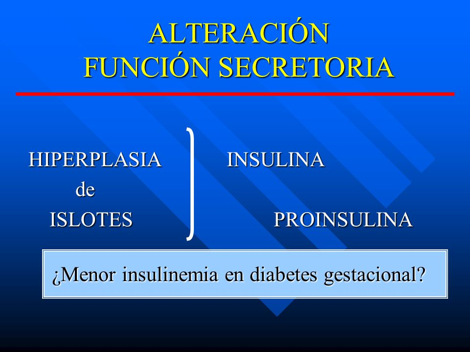 ALTERACIÓN FUNCIÓN SECRETORIA