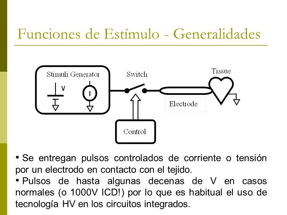 Funciones de Estímulo - Generalidades