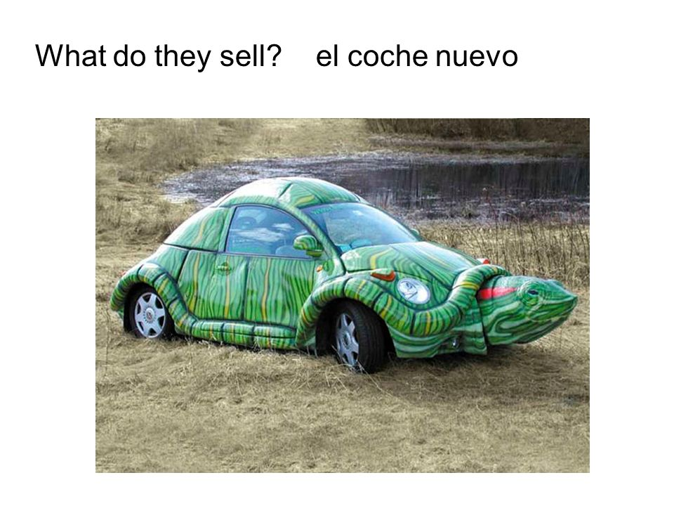 What do they sell el coche nuevo