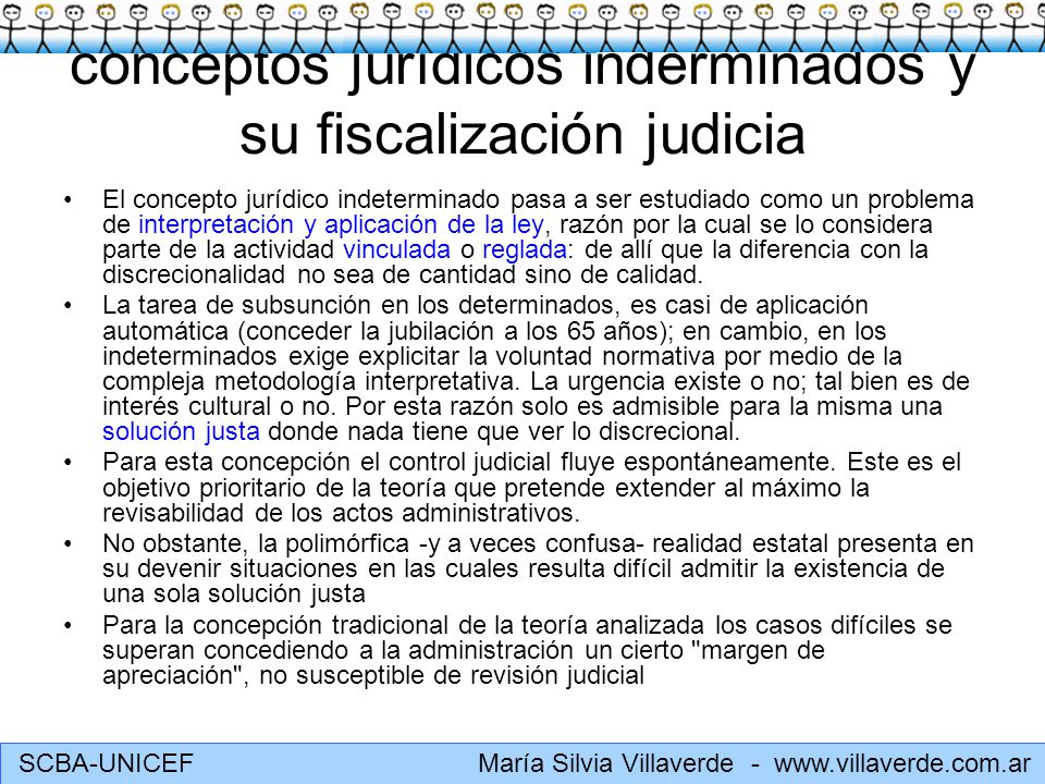 conceptos jurídicos inderminados y su fiscalización judicia