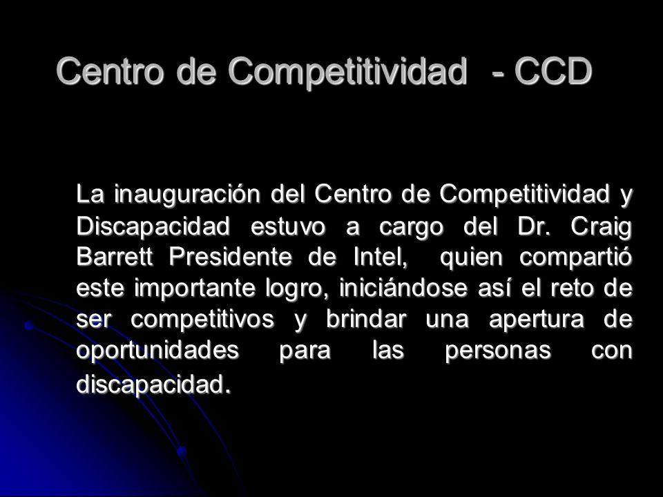 Centro de Competitividad - CCD
