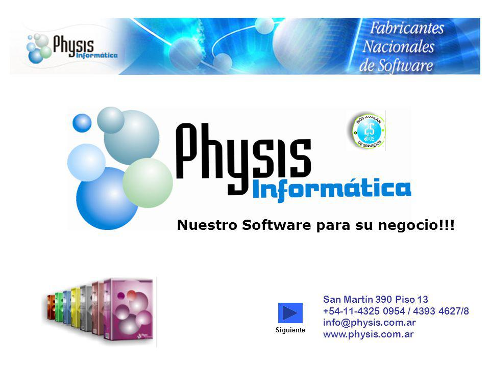 Nuestro Software para su negocio!!!