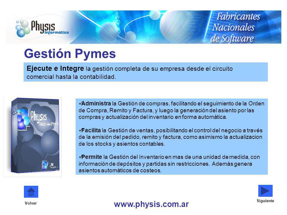 Gestión Pymes www.physis.com.ar