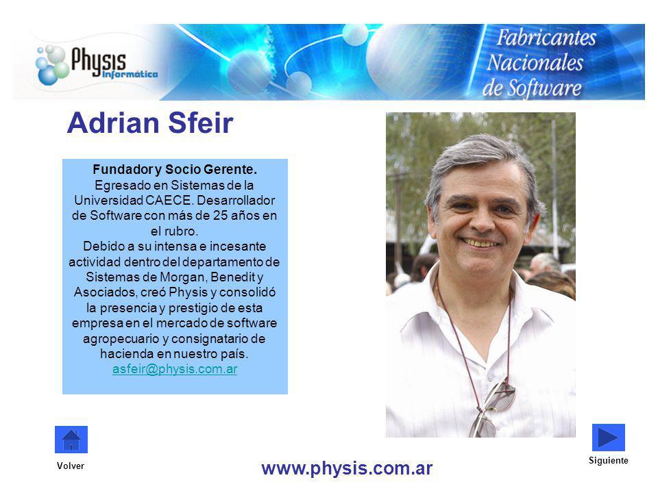 Adrian Sfeir www.physis.com.ar