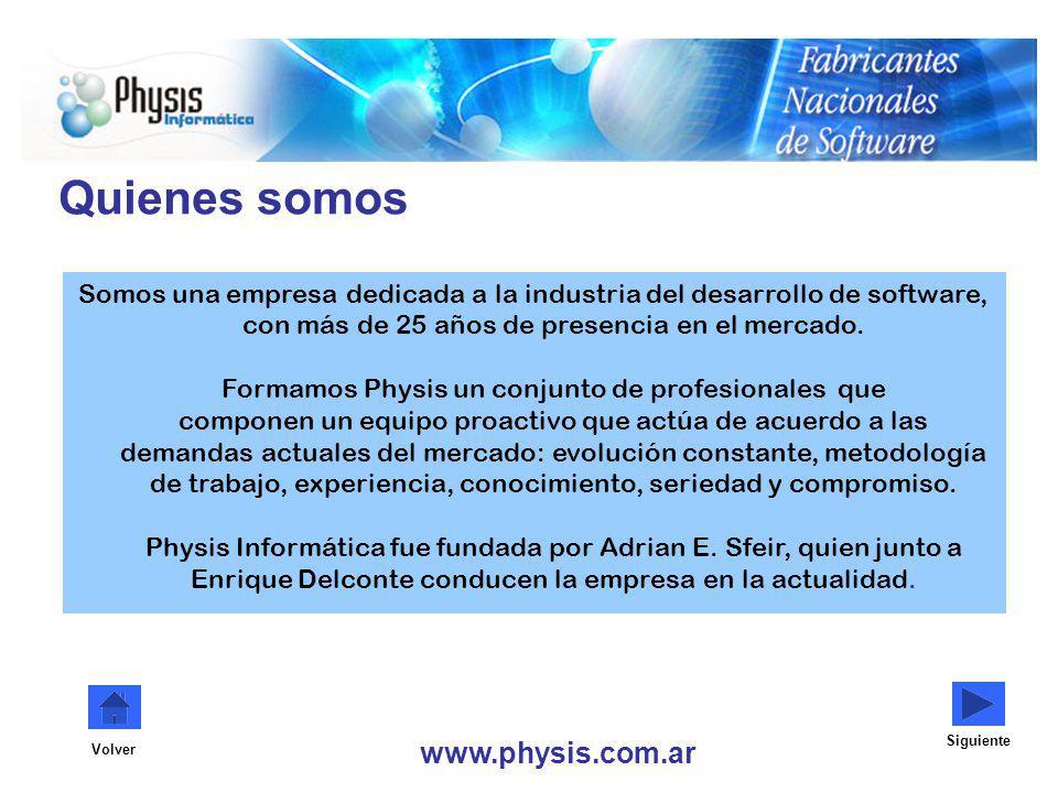 Quienes somos www.physis.com.ar