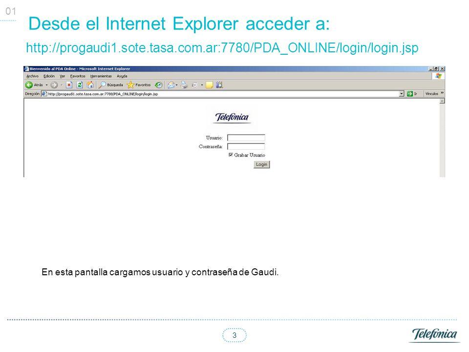 Desde el Internet Explorer acceder a: