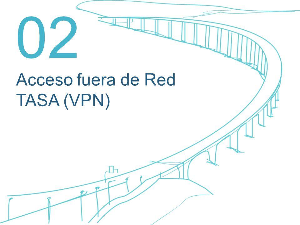02 Acceso fuera de Red TASA (VPN)