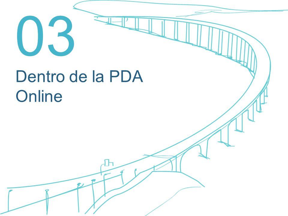 03 Dentro de la PDA Online