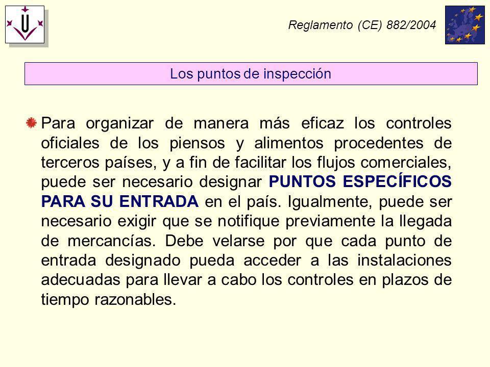 Los puntos de inspección