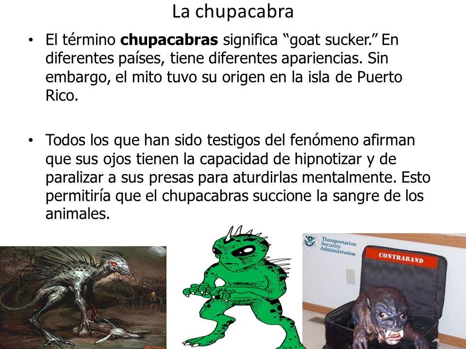 La chupacabra