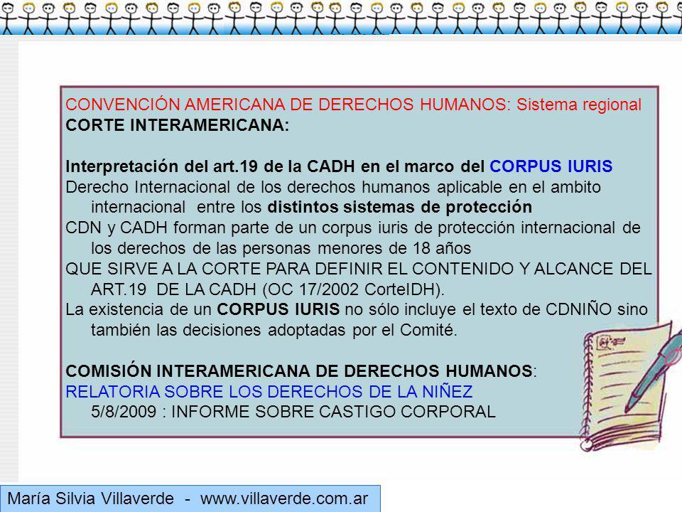 CONVENCIÓN AMERICANA DE DERECHOS HUMANOS: Sistema regional