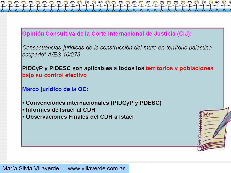 Opinión Consultiva de la Corte Internacional de Justicia (CIJ):