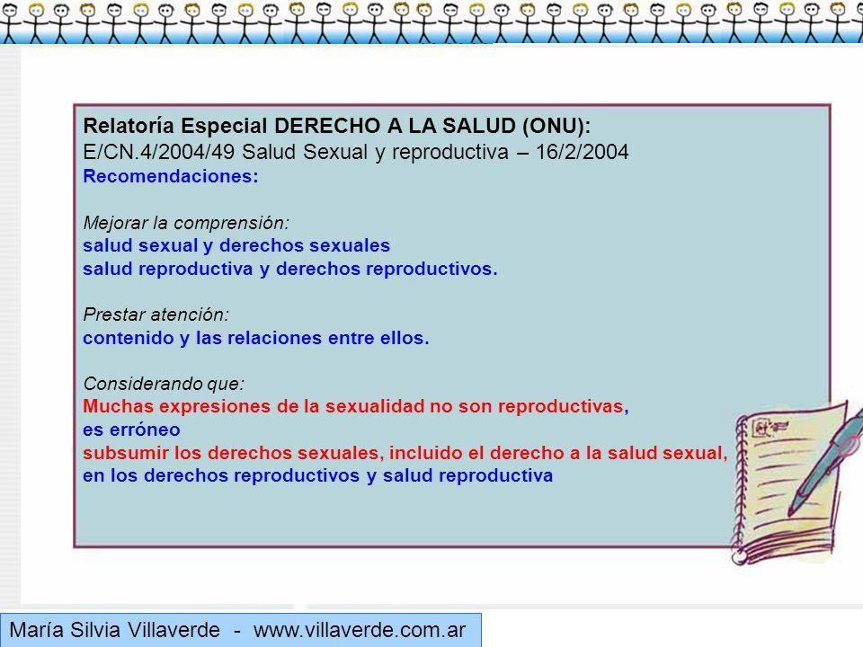 Muchas gracias Relatoría Especial DERECHO A LA SALUD (ONU):