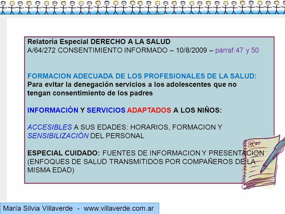 Muchas gracias Relatoría Especial DERECHO A LA SALUD