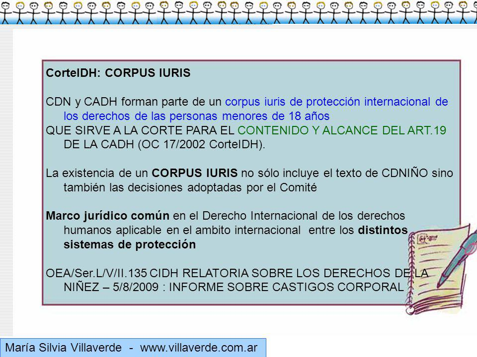Muchas gracias CorteIDH: CORPUS IURIS