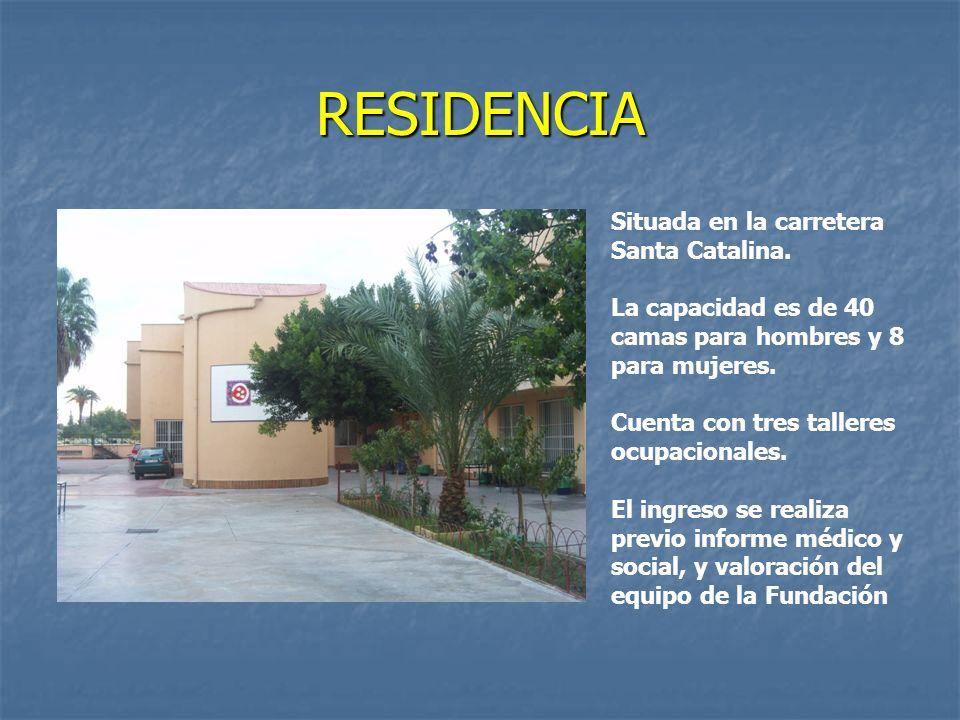 RESIDENCIA Situada en la carretera Santa Catalina.