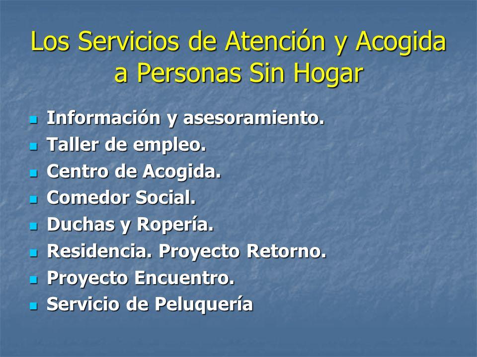 Los Servicios de Atención y Acogida a Personas Sin Hogar