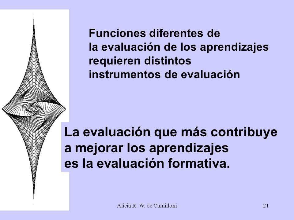La evaluación que más contribuye a mejorar los aprendizajes