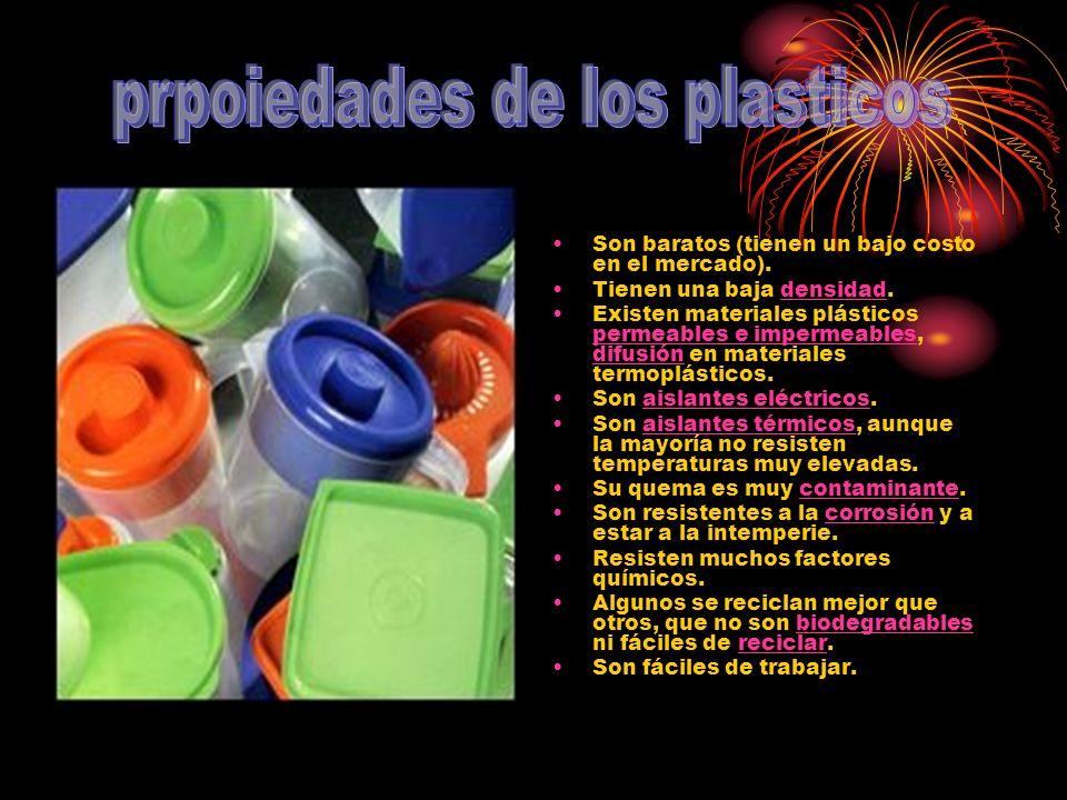 prpoiedades de los plasticos